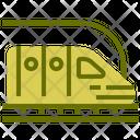 Tube Vehicle Train Icon