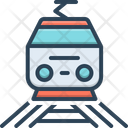 Railway Train Subway Icon