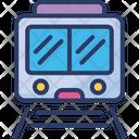Railroad Train Transportation Icon