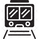Railroad Train Transportation Icon