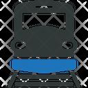 Train Locomotive Railway Icon