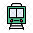 Rail Train Transport Icon