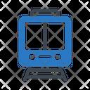 Rail Train Transport Icon