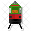 Train Locomotive Railroad Icon