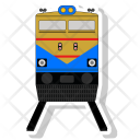 Loco Locomotive Railroad Icon