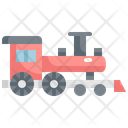 Train Locomotive Transport Icon