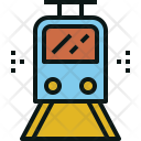 Train Transportation Electric Icon