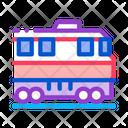 Train Transportation Rail Icon