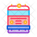Train Transport Rail Icon