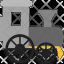 Logistics Delivery Train Icon