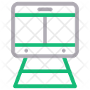 Train Shipping Delivery Icon