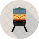 Railroad Train Transport Icon