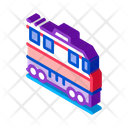 Train Transportation Rail Icon