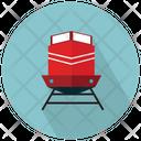 Train Front Railway Track Train Transport Icon