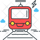Train Railway Transportation Icon