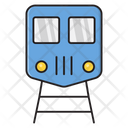 Train Railway Track Icon