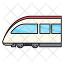 Train Rail Public Icon