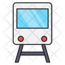 Train Rail Travel Icon