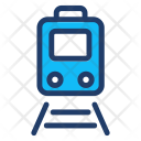 Train Vehicle Transport Icon