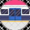 Public Transport Logistics Transportation Icon