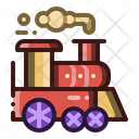 Train Carnival Transportation Icon