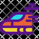Train Bullet Train Fast Train Icon