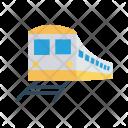 Train Rail Subway Icon