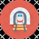 Tram Train Transport Icon