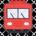 Train Transport Railway Road Icon