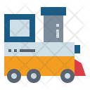 Toy Train Children Icon