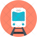 Train Locomotive Subway Icon
