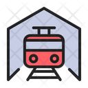 Train Railway Station Icon