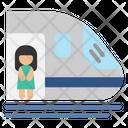 Train Passenger Transport Icon