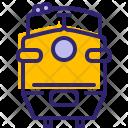 Train Traveling Rail Icon