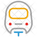 Train Convoy Metro Icon
