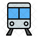 Train Transportation Traveling Icon