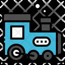 Train Transportation Vehicle Icon