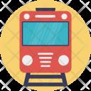 Tram Train Travel Icon