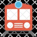 Train Railway Track Icon