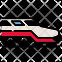 Transportation Train Railway Icon