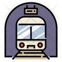 Train Station Public Icon