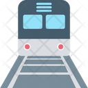 Train Railway Transportation Retro Train Icon