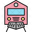 Train Railway Transportation Retro Train Icon