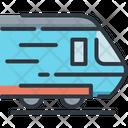 Train Delivery Logistic Icon