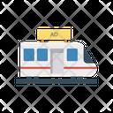 Train Ads Advertisement Icon