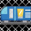 Train Advertising Icon