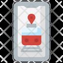 Train App Smartphone Train Icon