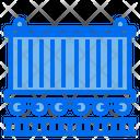 Logistics Package Box Railroad Icon