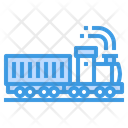 Container Delivery Logistics Icon