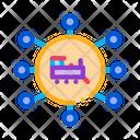 Train Direction Rail Icon